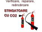 Verificarea, reparararea si reincarcarea stingatoarelor cu CO2